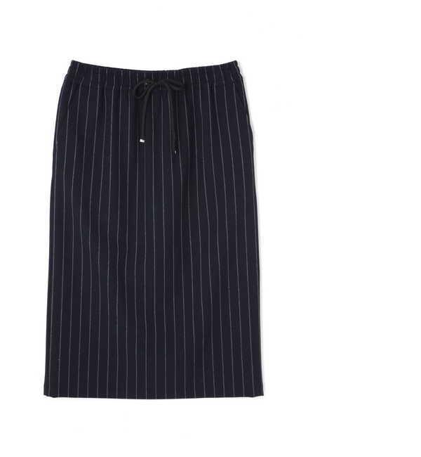 【ヴァンドゥー・オクトーブル/22 OCTOBRE】 [Weekend Line] ストライプドロストスカート