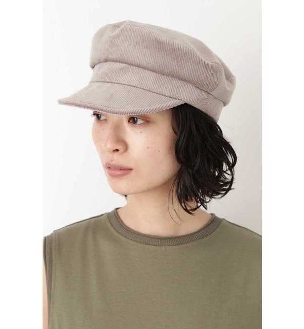 【ヒューマンウーマン/HUMAN WOMAN】 オリジナル コーデュロイマリン帽
