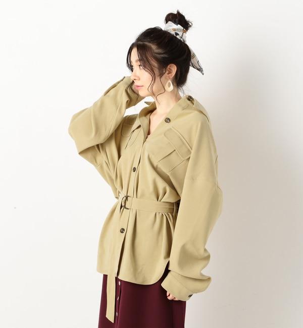 【アルシーヴ/archives】 A-ビッグシルエットシャツ