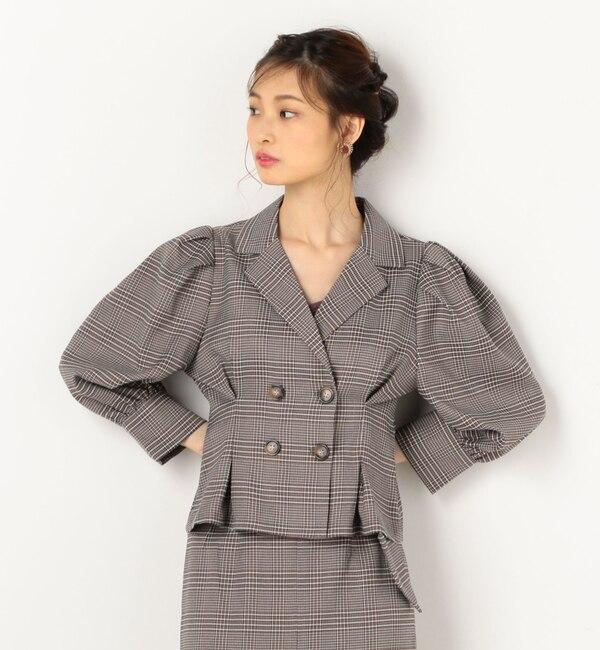 【アルシーヴ/archives】 ダブルボタンシャツジャケット