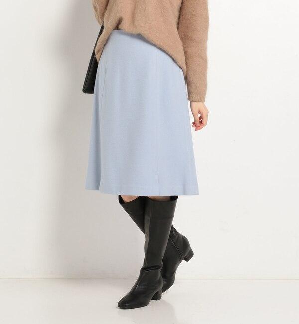 【ドゥアルシーヴ/Doux archives】 ちびスリットセミタイトスカート