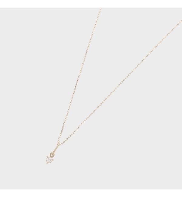 【ココシュニック/COCOSHNIK】 【WEB限定】スピリチュアルストーン(ダイヤモンド)ネックレス
