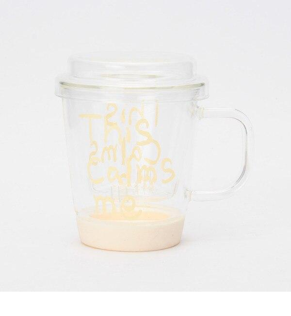 【コルテラルゴ/CorteLargo】 耐熱フタツキハーブティーマグカップ [3000円(税込)以上で送料無料]