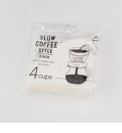 【コルテラルゴ/CorteLargo】 KINTO SLOW COFFEE STYLE コットンペーパーフィルター [3000円(税込)以上で送料無料]