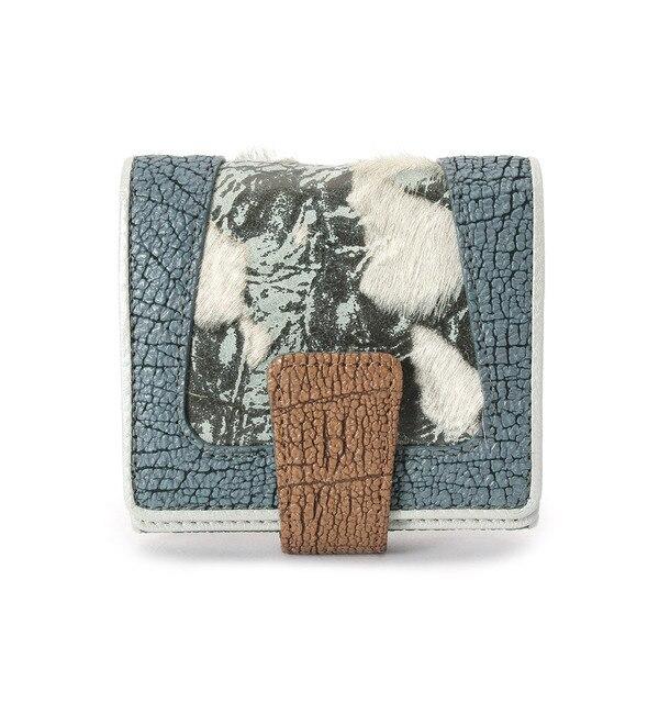 【ヒロコ ハヤシ/HIROKO HAYASHI】 SAGOMA(サゴマ) 薄型二つ折り財布 [送料無料]