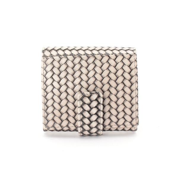 【ヒロコ ハヤシ/HIROKO HAYASHI】 OTTICA(オッティカ)薄型二つ折り財布 [送料無料]