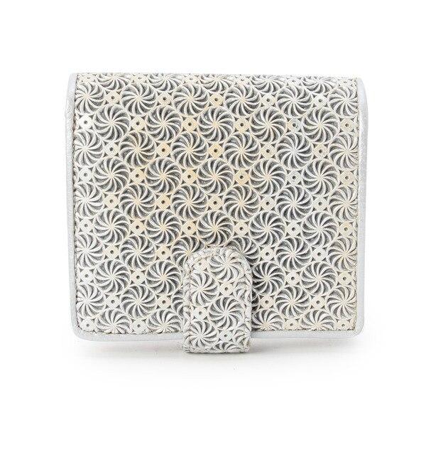【ヒロコ ハヤシ/HIROKO HAYASHI】 GIRASOLE(ジラソーレ)薄型二つ折り財布 [送料無料]