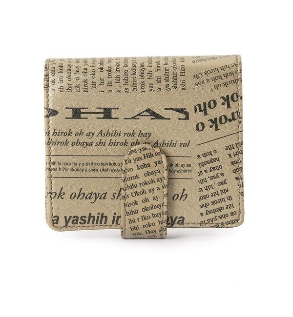 【ヒロコ ハヤシ/HIROKO HAYASHI】 FUTURO(フトゥーロ) 薄型二つ折り財布 [送料無料]