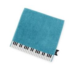 【パサージュ ミニョン/passage mignon】 Atsuko Matano ピアノ&ネコハンドタオル [3000円(税込)以上で送料無料]