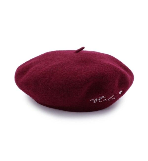 【シューラルー/SHOO・LA・RUE】 バスクベレー帽