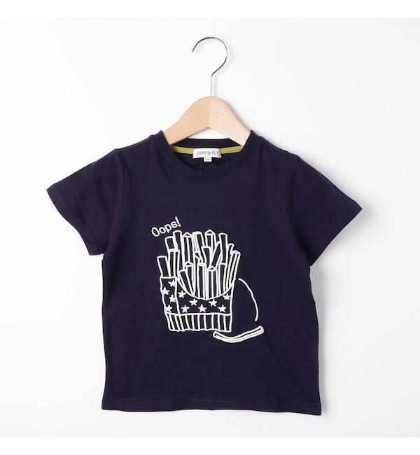 【シューラルー/SHOO・LA・RUE】 【80-130cm】ジャンクフードTシャツ