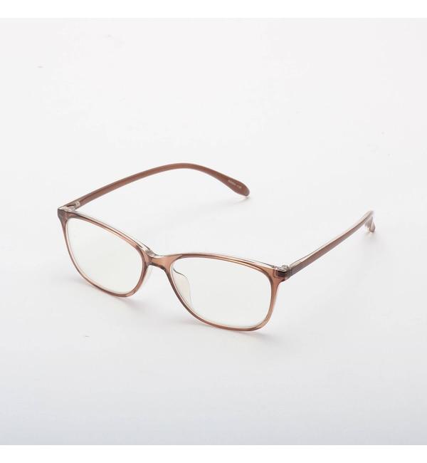 【シューラルー/SHOO・LA・RUE】 【WEB限定品番/ブルーライトカット】リーディンググラス(老眼鏡) スリムフレーム