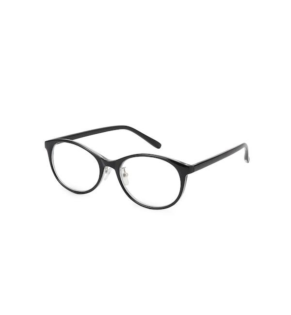 【シューラルー/SHOO・LA・RUE】 【ブルーライト/曇り止め加工】ベーシック伊達メガネ