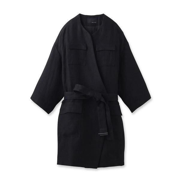 【ジェット/JET】 リネン二重織りコート [送料無料]