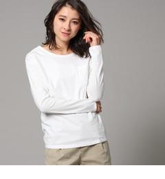【ジェット/JET】 コットンラウンドネックロングTシャツ [送料無料]