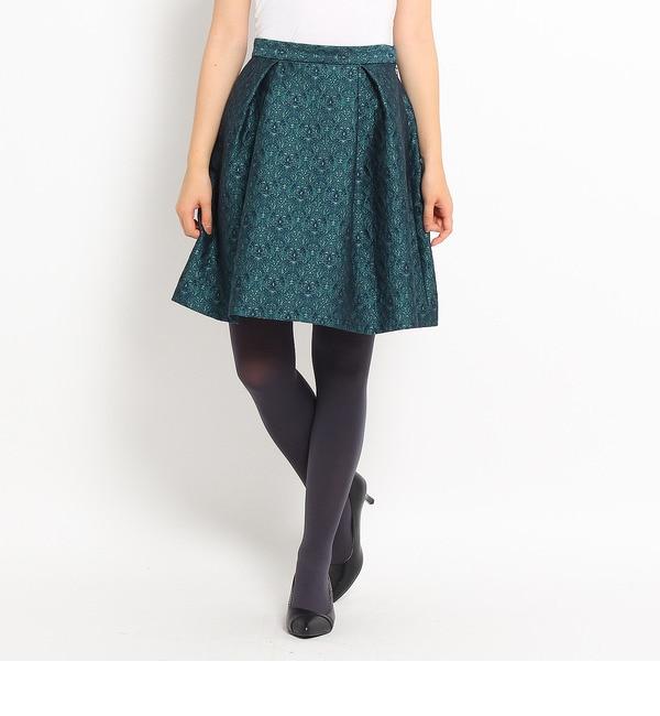 【ルビーリベット/Rubyrivet】 バロックジャガードスカート [送料無料]