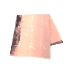 【スマート ピンク/smart pink】 デジタルプリントストール [3000円(税込)以上で送料無料]