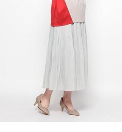 【スマートピンク/smartpink】スパンボイルスカート[送料無料]