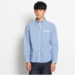 【デッサン/Dessin】 【洗える】ギンガムボタンダウンシャツ [送料無料]