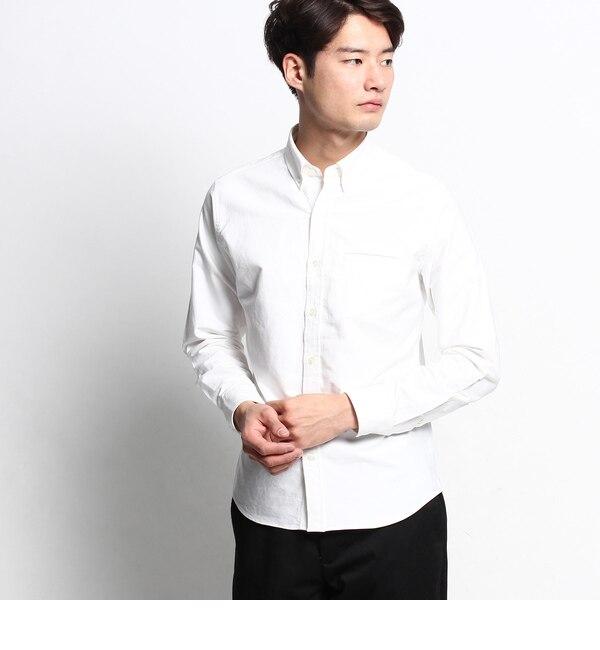 【デッサン/Dessin】 【洗える】オックスフォードボタンダウンシャツ [送料無料]