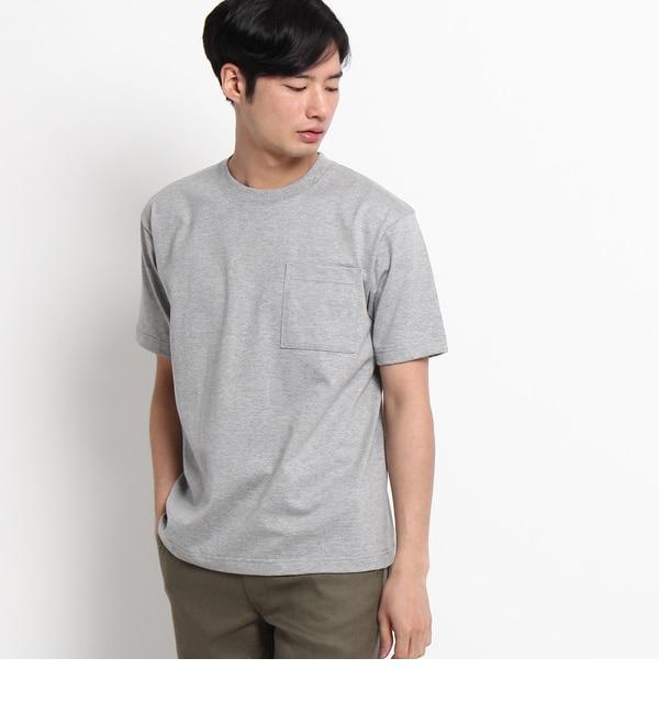 【デッサン/Dessin】 【洗える】吊り編み天竺Tシャツ [送料無料]
