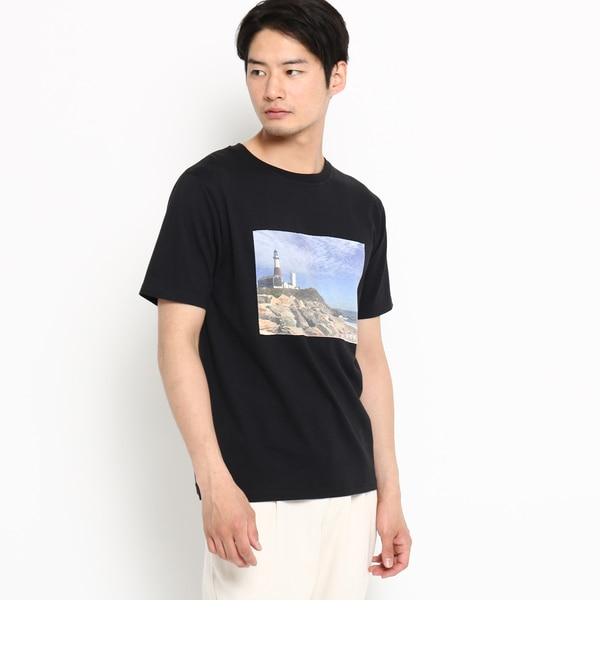 【デッサン/Dessin】 【洗える】フォトTシャツ [送料無料]