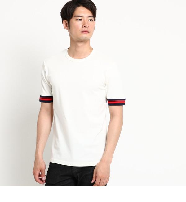 【デッサン/Dessin】 【洗える】ソフト鹿の子Tシャツ