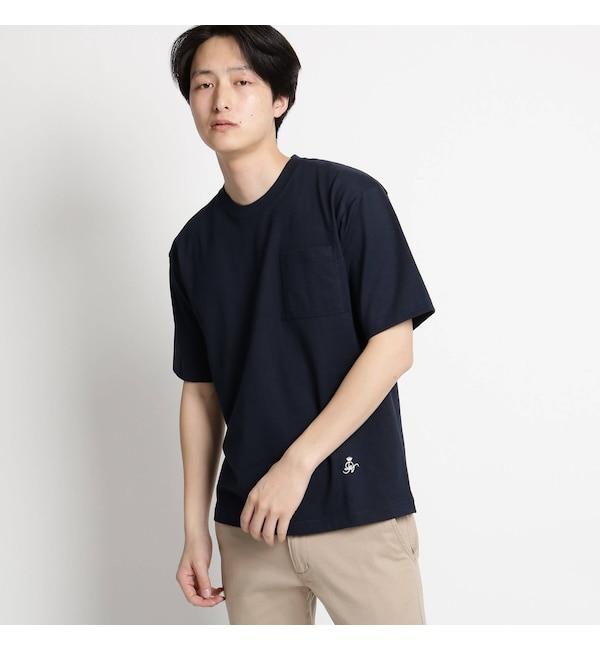 【デッサン/Dessin】 【洗える】吊り編み天竺Tシャツ