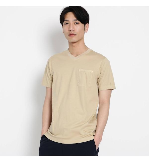 【デッサン/Dessin】 VネックポケットTシャツ
