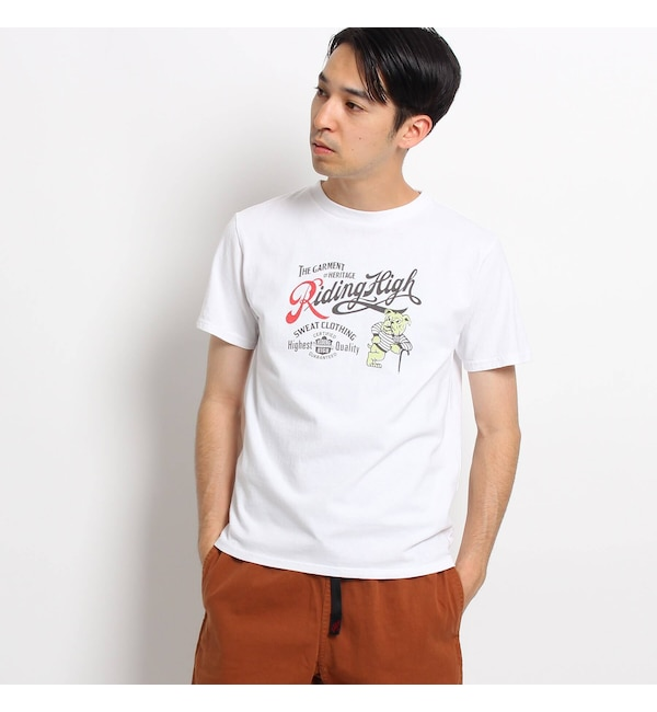 【デッサン/Dessin】 Riding High 別注ブルドッグTシャツ