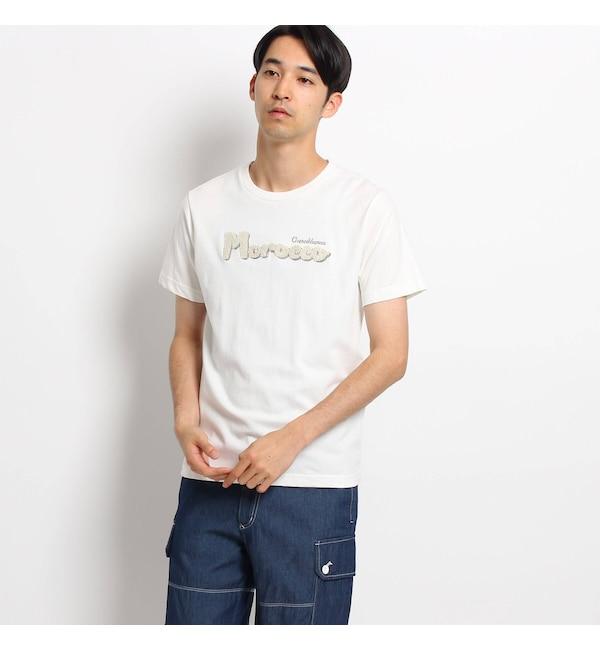 【デッサン/Dessin】 【洗える】パイル立体ロゴTシャツ