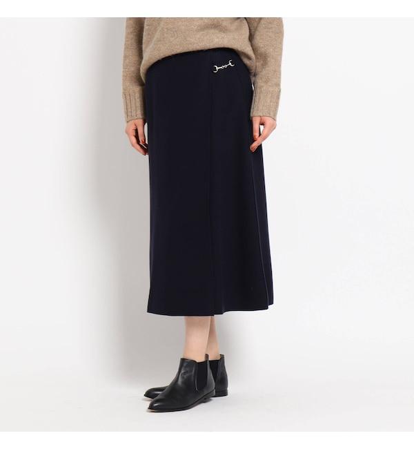【デッサン/Dessin】 【S~Lサイズあり】ライトジャージメルトンピットスカート