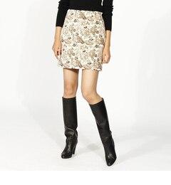 【アクアガール/aquagirl】 【WEB限定】CROLLAゴブランジャカードスカート [送料無料]
