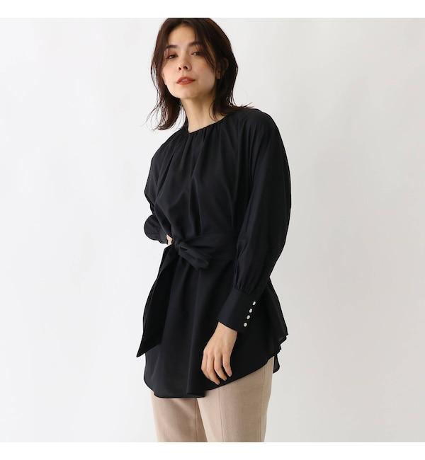 【アクアガール/aquagirl】 2WAYテントラインロングシャツ
