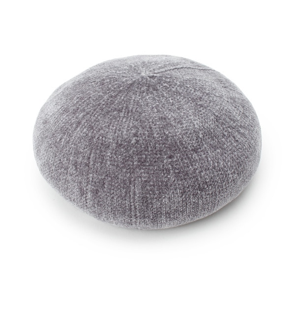 【イッツデモ/ITS'DEMO】 モールヤーンベレー帽
