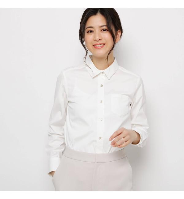 【ソフール/Sofuol】 シェルボタンベーシックシャツ