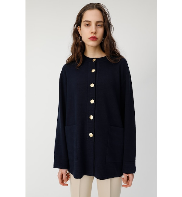 【マウジー/MOUSSY】 EMBLEM BUTTON LONG C/D