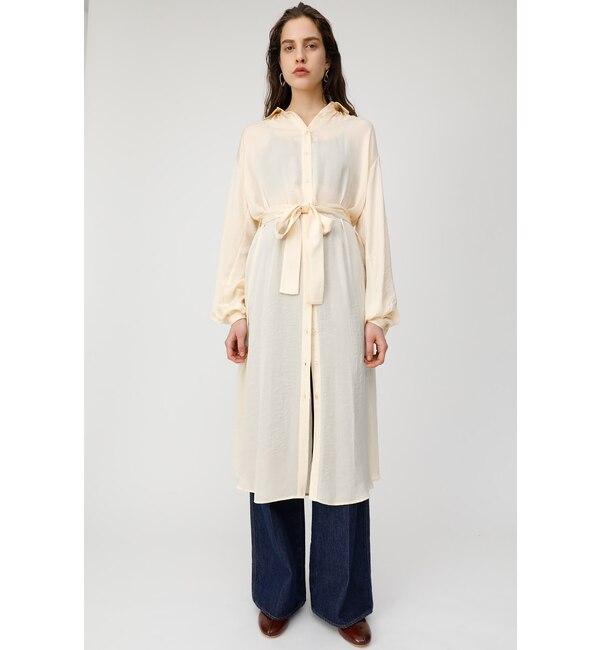 【マウジー/MOUSSY】 SATIN SHIRT ロングドレス