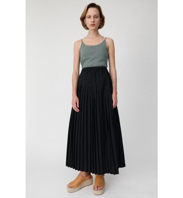 【マウジー/MOUSSY】 BACK RIBBON PLEATS スカート