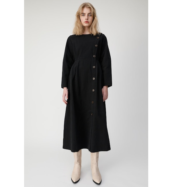 【マウジー/MOUSSY】 COLLARLESS WORK ドレス