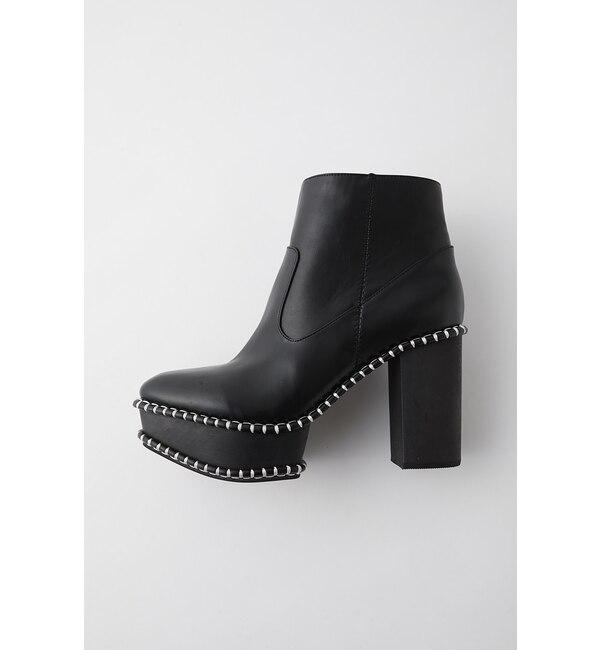 【マウジー/MOUSSY】 WOOD SOLE ブーツ