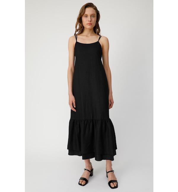 【マウジー/MOUSSY】 DOUBLE STRAP FLARE ドレス