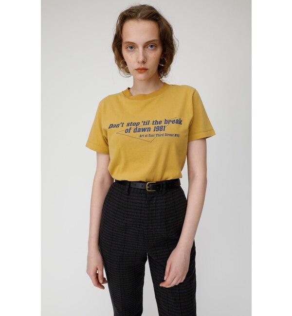【マウジー/MOUSSY】 DON'T STOP Tシャツ