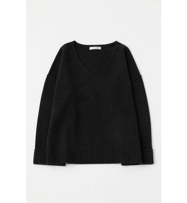 【マウジー/MOUSSY】 DROP SHOULDER V/N セーター