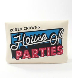 【ロデオクラウンズワイドボウル/RODEO CROWNS WIDE BOWL】 RCS HOP クラッチ バッグ [3000円(税込)以上で送料無料]
