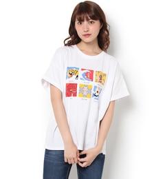【ロデオクラウンズワイドボウル/RODEO CROWNS WIDE BOWL】 17SS オールスター Tシャツ [送料無料]