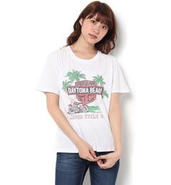 【ロデオクラウンズワイドボウル/RODEO CROWNS WIDE BOWL】 レースアップ MC Tシャツ [送料無料]