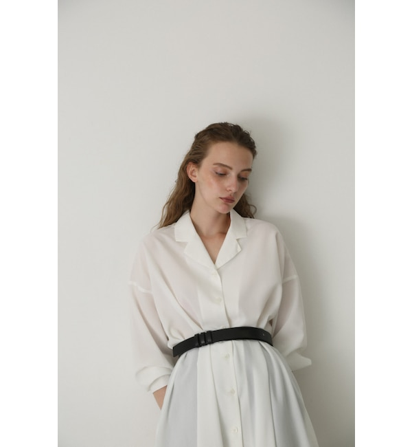 【リムアーク/RIM.ARK】 Relax shirt gown