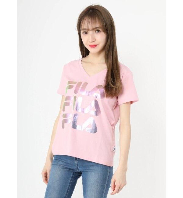 【セシルマクビー/CECIL McBEE】 FILAプリントTシャツ