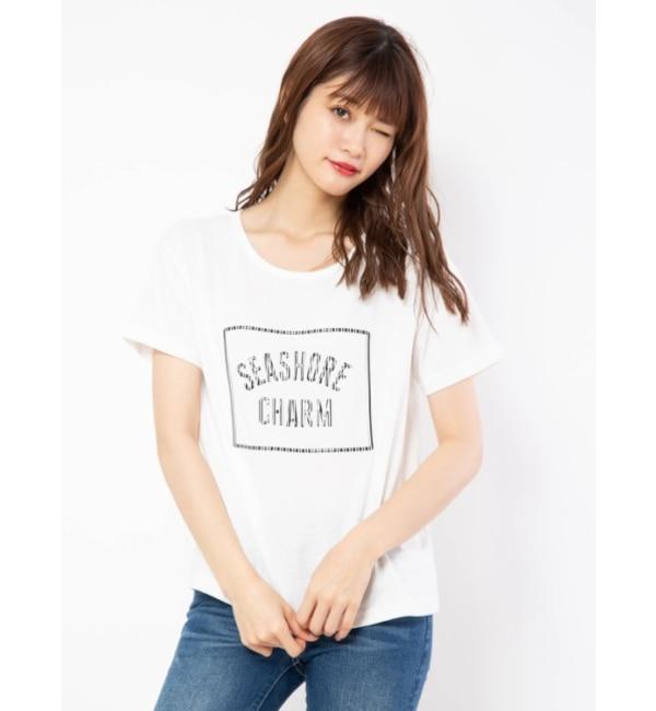 【セシルマクビー/CECIL McBEE】 3DプリントTシャツ
